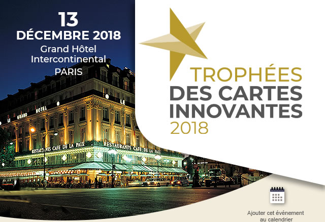 13 DECEMBRE 2018 | Grand Hôtel Intercontinental | PARIS